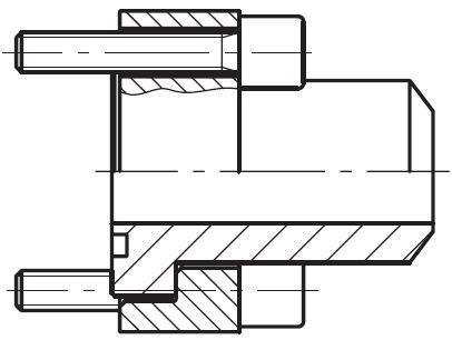 PCF-B - vysokotlaká čtvercová příruba CETOP na V-sváry