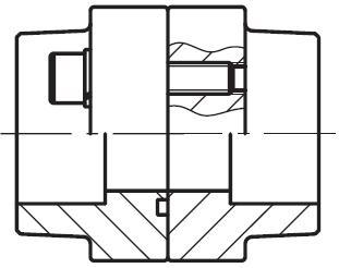 PDFS-S - vysokotlaká příruba na koutový sváry, kompletní sada