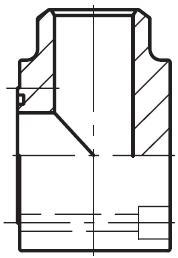PLCF-B - vysokotlaká čtvercová L příruba CETOP 90° na V-sváry