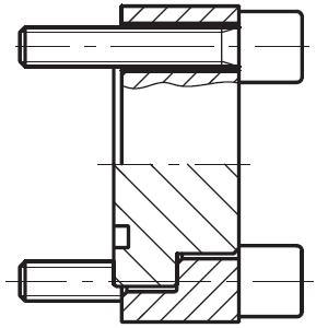 PPCF - vysokotlaká zátka pro čtvercovou přírubu CETOP