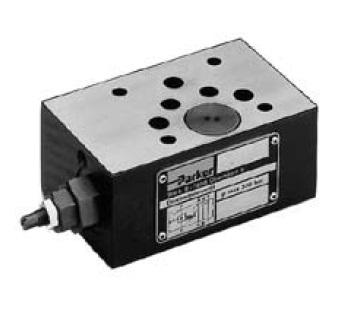 PRM - hydraulický nepřímo řízený redukční ventil