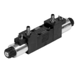 Hydraulické rozvaděče elektricky ovládané - šoupátkové