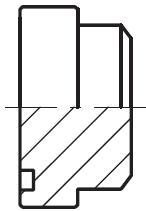 PSFP - hydraulická vysokotlaká čtvercová zátka příruby