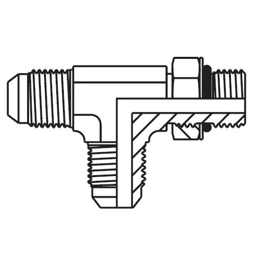 R5OMX - hydraulická EL spojka Triple-Lok® 37°