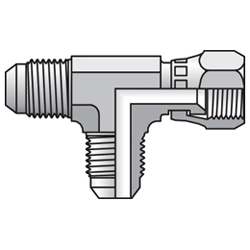 R6MX - hydraulická EL spojka s otočnou maticí Triple-Lok® 37°