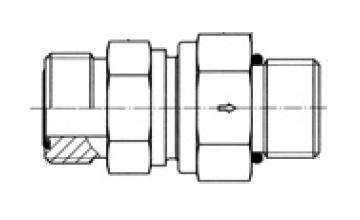RHZ5OMLOS - hydraulický jednosměrný zpětný ventil