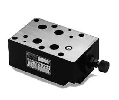 RM - hydraulický pojistný nepřímo řízený ventil