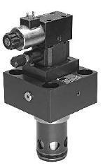 R_RS_E - hydraulický nepřímo řízený pojistný ventil