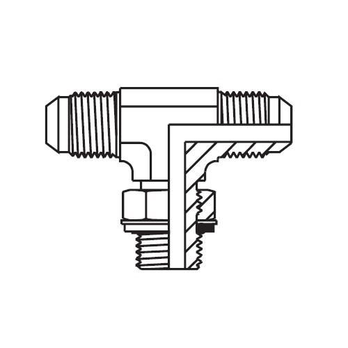 S4OMX - hydraulická stavitelná ET spojka Triple-Lok® 37°