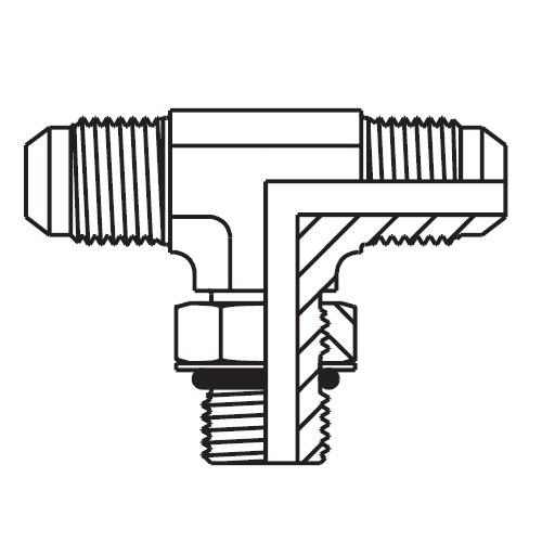 S5OMX - hydraulická ET spojka Triple-Lok® 37°