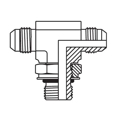S87OMX - hydraulická ET spojka Triple-Lok® 37°