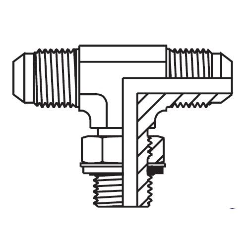 S8OMX - hydraulická ET spojka Triple-Lok® 37°