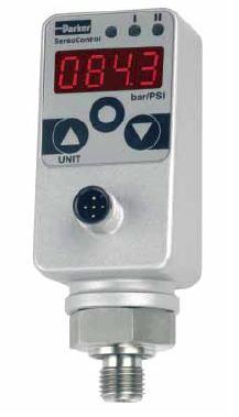 SCPSD- indikátory tlaku s tlakovým spínačem