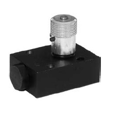 Hydraulické průtokové ventily