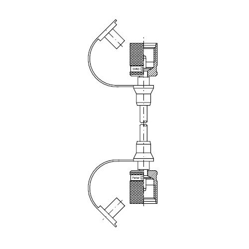 Měřící hadice vysokotlaké SMA3 připojení M16x2 vnitřní