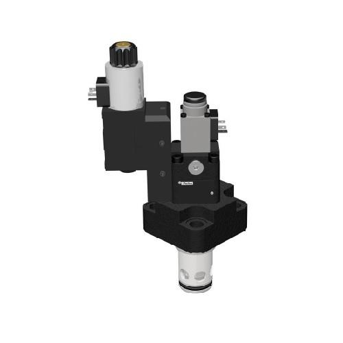 TEA_W - hydraulický proporcionální ventil s uzavíracím ventilem