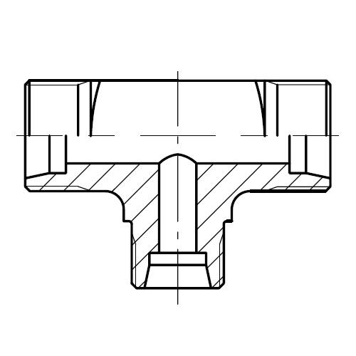 TR - hydraulická redukční spojka šroubení