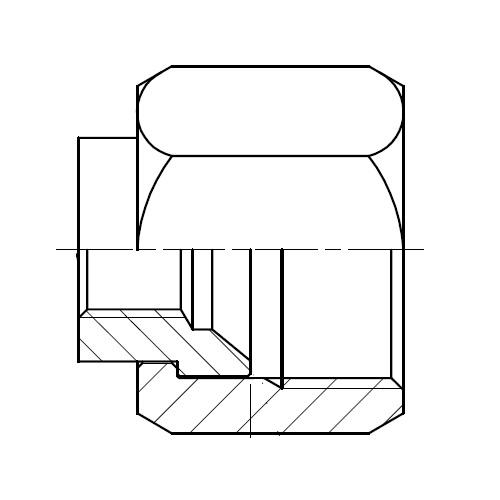 TT4MX - hydraulický zkušební konektor na EMA3 Triple-Lok® 37°