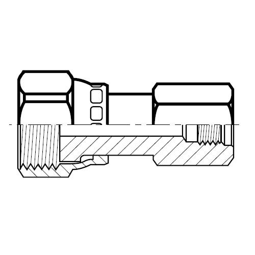 TT8ML - hydraulický konektor O-Lok