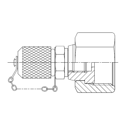 TTP4ML - hydraulický zkušební konektor O-Lok