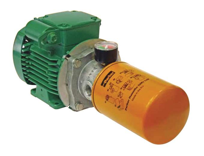 UNIT - filtrační jednotka pro vyšší koncentrací nečistot