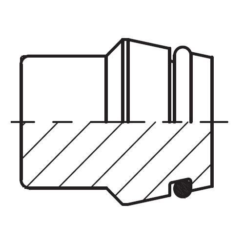 VKA - hydraulická záslepka šroubení pro těsnící kužel EO