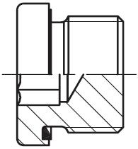 VSTI M\R-ED - hydraulická zátka s těsněním ED