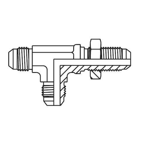 WJJTX - hydraulická EL spojka panelová Triple-Lok® 37°
