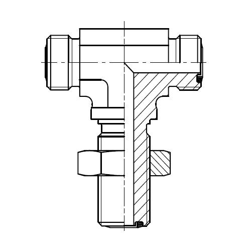 WJLO - hydraulická spojka ET šroubení panelová