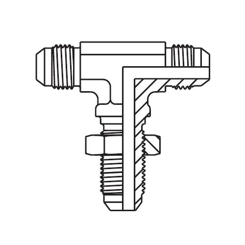 WJTX - hydraulická ET spojka panelová Triple-Lok® 37°