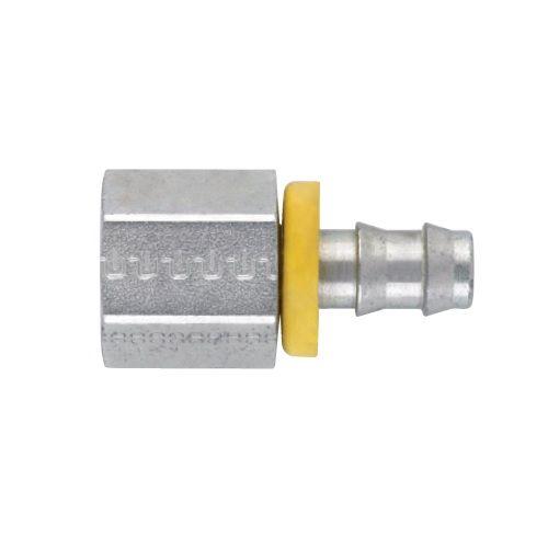 02 - Push-Lok koncovka AGN nástrčné hrdlo přímé s maticí