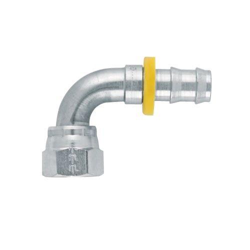 39\3W - Push-Lok koncovka DKJ 90° nástrčná s maticí