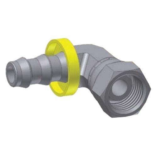 7C - Push-Lok koncovka DKL 90° nástrčná s maticí