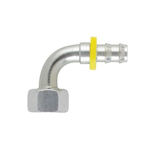 B2 - Push-Lok koncovka DKR 90° nástrčná s maticí
