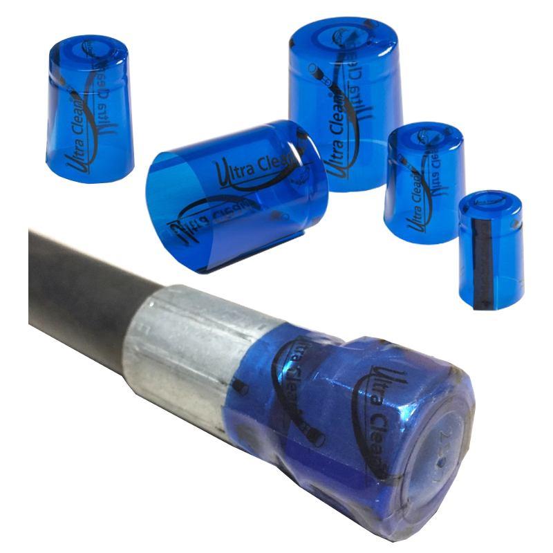 Ochrana konců hadic - zavařování kapsulí