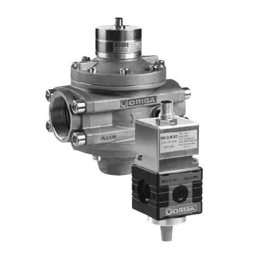 Pneumatické elektronicky řízené proporcionální regulační ventily