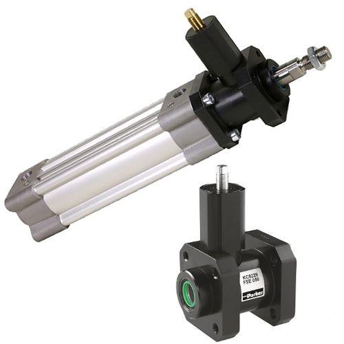 P1F-H - pneumatické válce dle ISO 15552 Parker