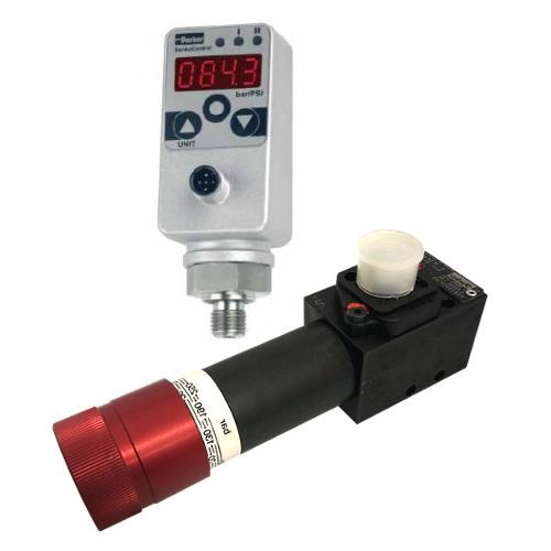 Hydraulické tlakové spínače