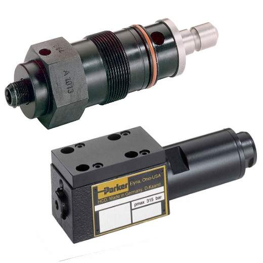 Hydraulické tlakové ventily