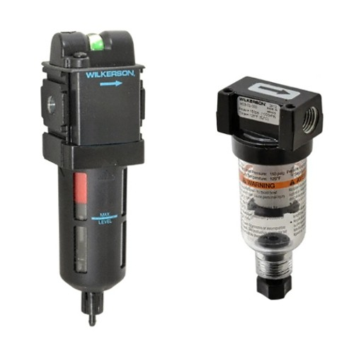 Koalescenční-adsorpční filtry pro úpravu vzduchu